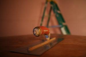 trowel plaster plastering